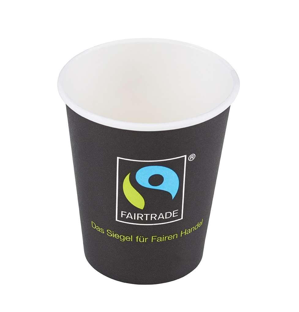 Fairtrade Coffee to go Becher Version 2015 / 50er-Pack | Eine-Welt-Shop
